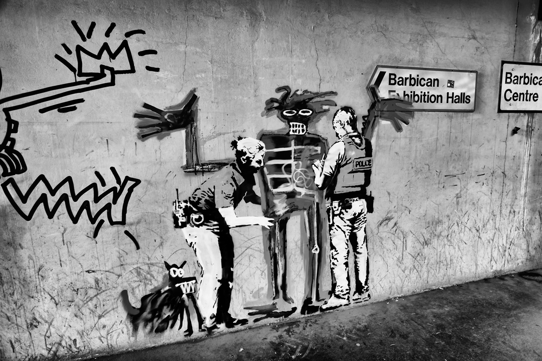 Banksy at the Barbican