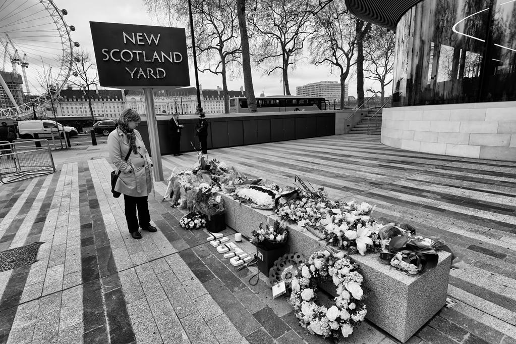 New Scotland Yard Tributes