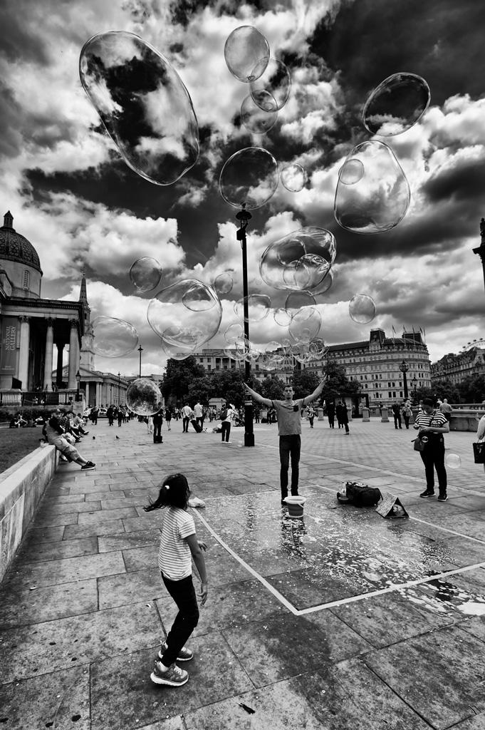 Cloud bubbles
