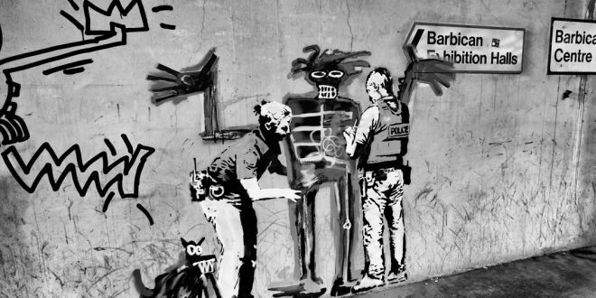 Banksy and Basquiat at the Barbican Centre