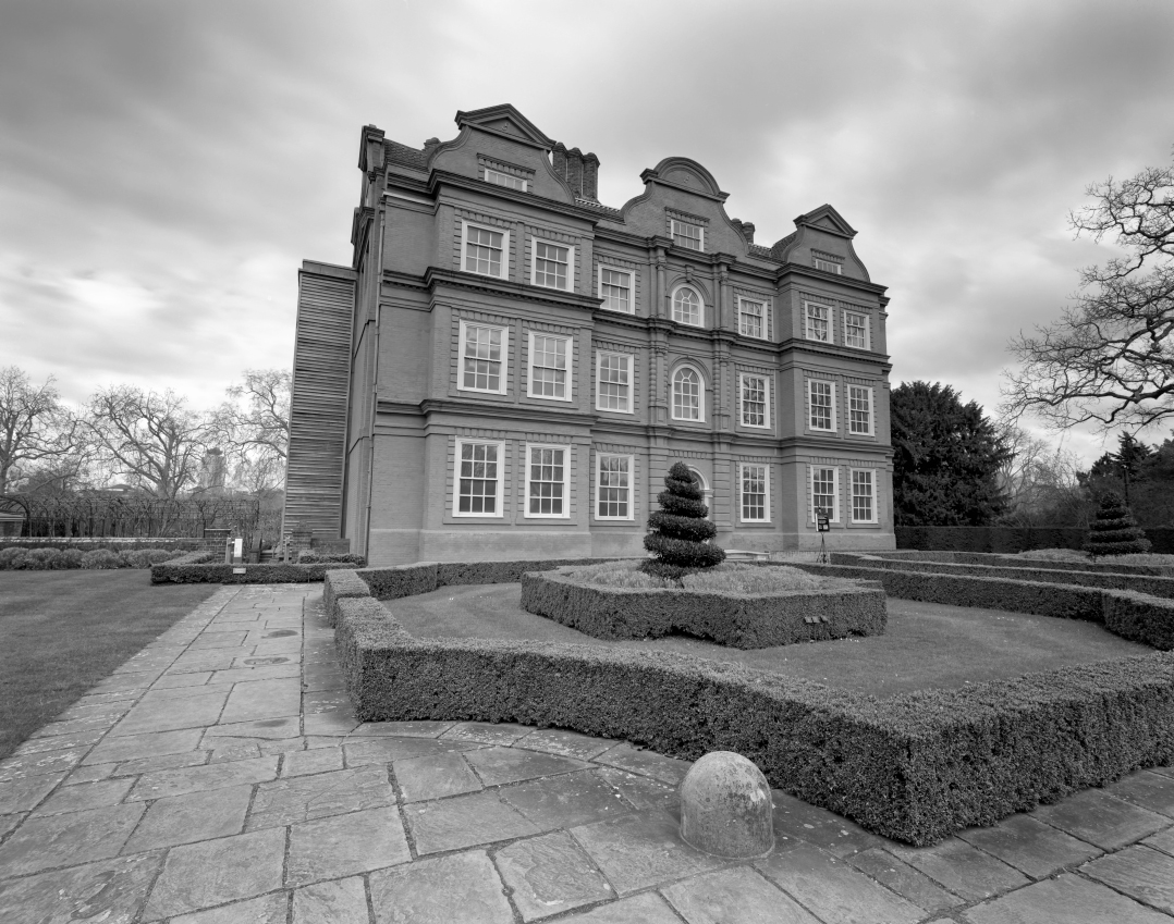 Kew Palace is a British royal palace in Kew Gardens on the banks of the River Thames up river from London.