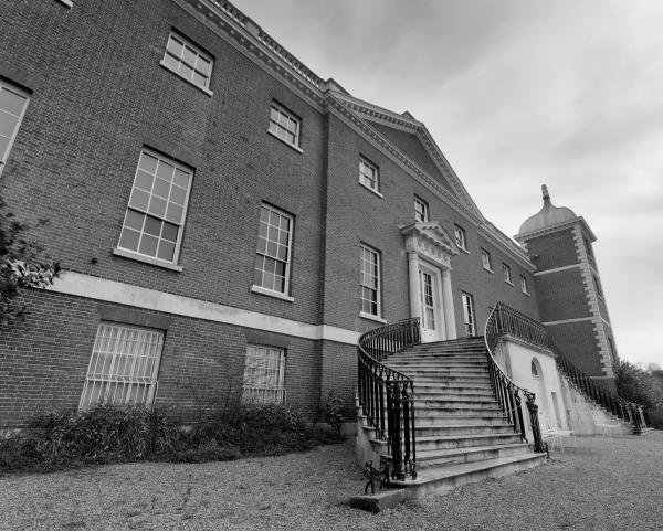 Osterley House landscape steps
