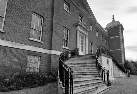 Osterley Gardens again (in large format film)